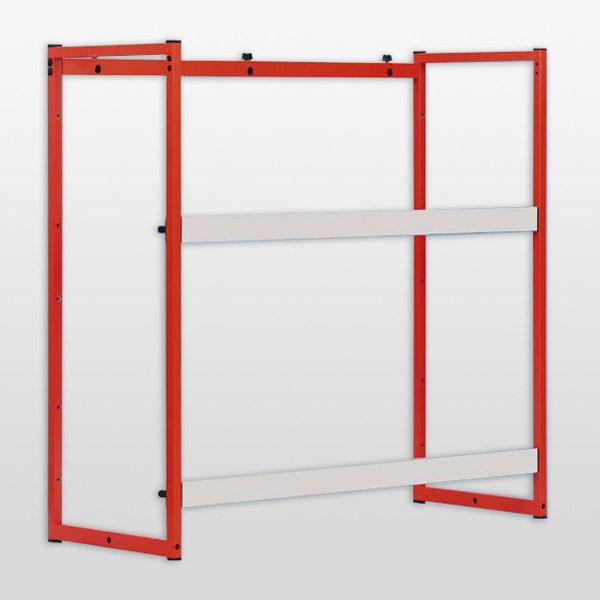 Demonstration panel frame