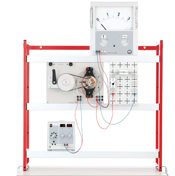 Demonstration panel frame, set VI (electrical machines)