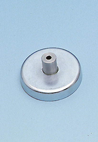 Magnetic base with 4-mm socket