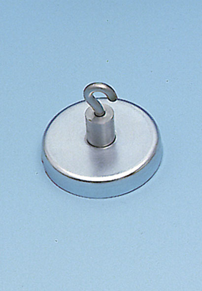 Magnetic base with hook