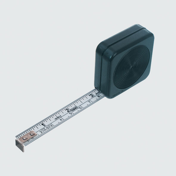 Steel tape measure, 2 m