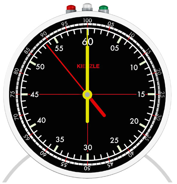 Table stop-clock