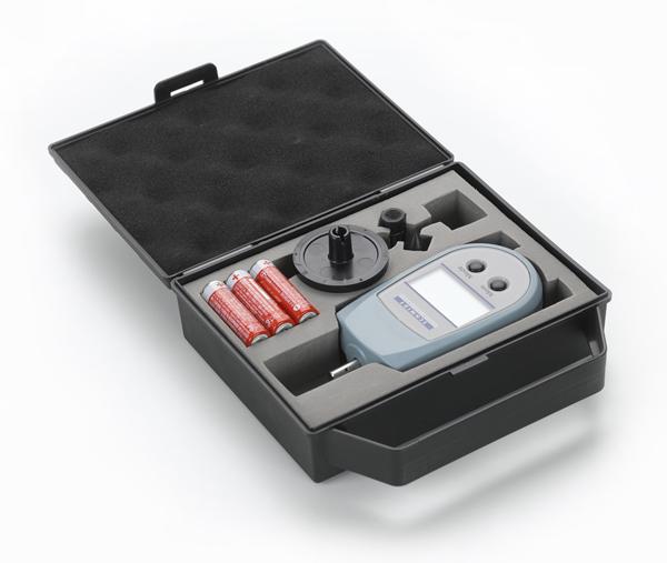 Digital hand-held tachometer