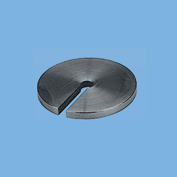 Slotted weight, 50 g, polished