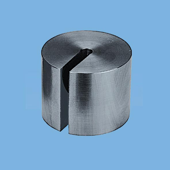 Slotted weight, 500 g