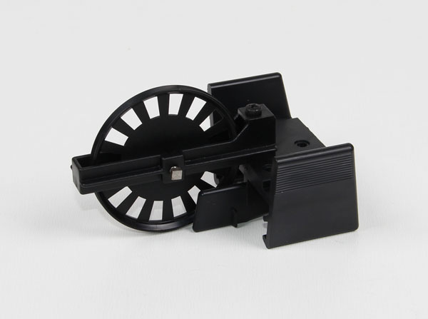 Pulley on clamp rider