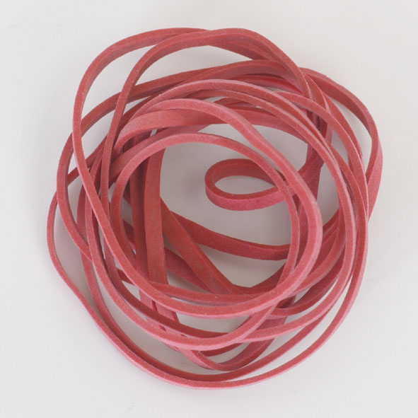 Rubber rings, set of 8