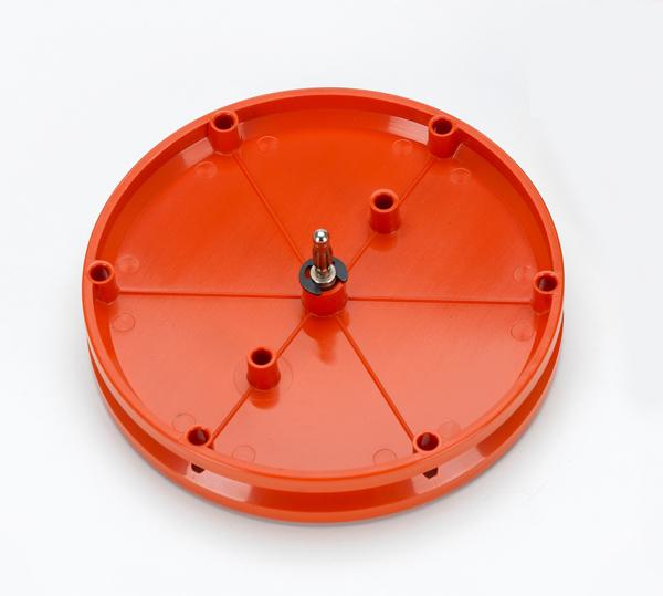 Pulley 100 mm Ø, plug-in, pair, set of 2