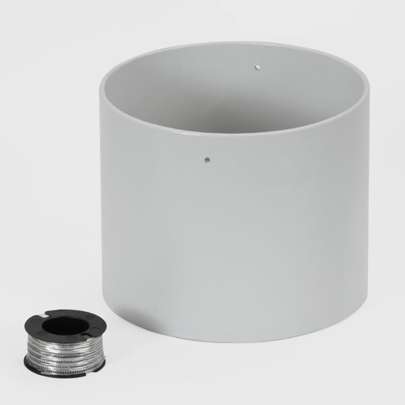 Hollow cylinder for fluid friction