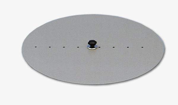 Circular disc for the torsion axle