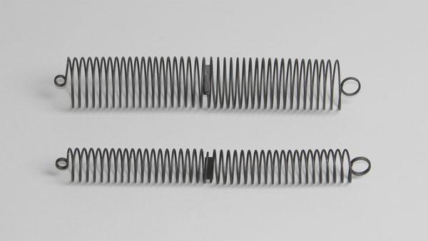 Helical springs, pair
