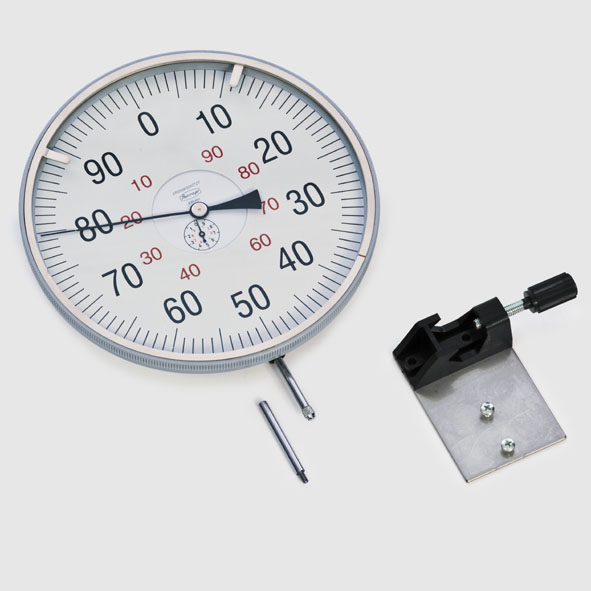 Dial gauge with holder