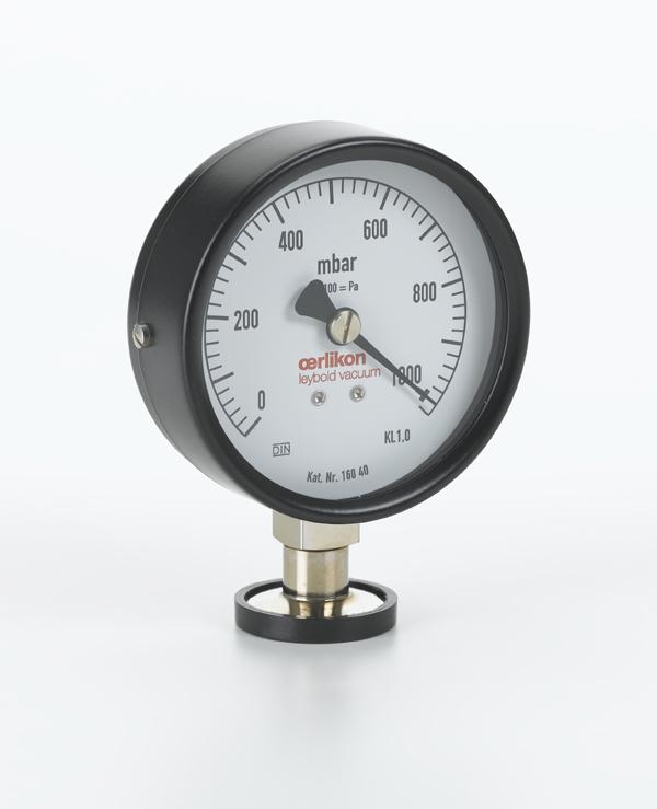 Pointer manometer, DN 16 KF
