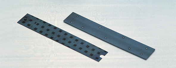 Bimetallic strips, pair
