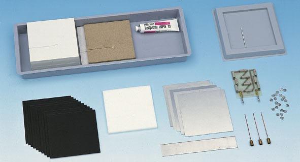 Building materials for calorimetric chamber