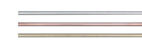 Metal rods, 1.5 m, set of 3