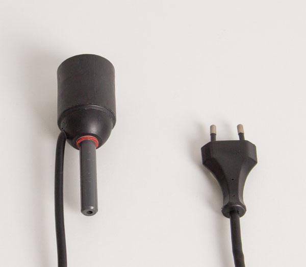 Lamp socket, E27, Euro plug