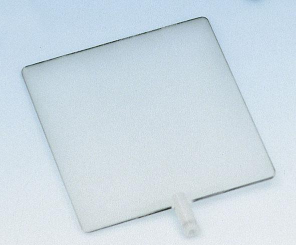 Translucent screen on rod