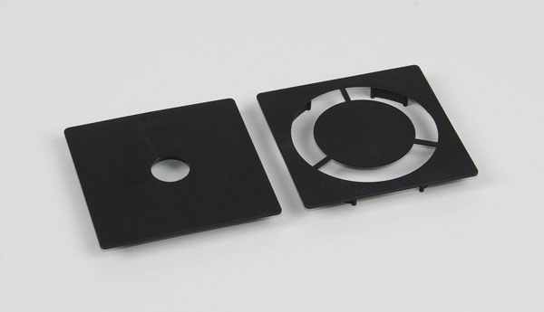 Diaphragms for spherical aberration, pair