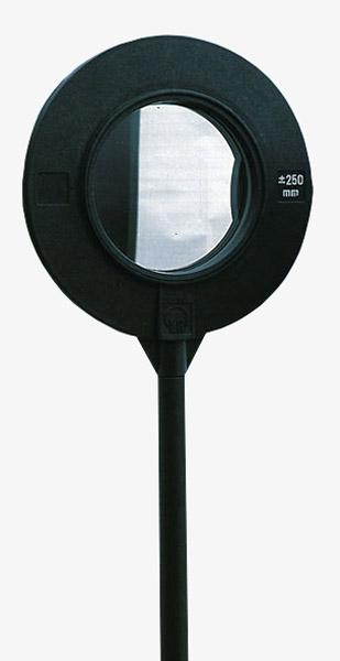 Convex-concave mirror