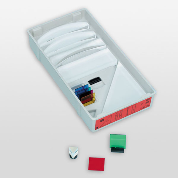 Magnetic board for optics, supplementary set
