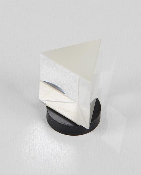 Optical flint prism on magnet