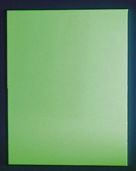 Zinc sulphide screen