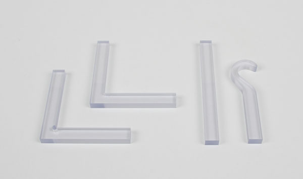 Photoelastic models, set of 4