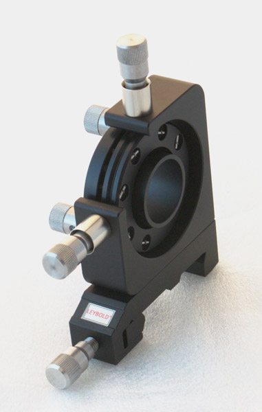 Adjustment holder, 4 axes, continuous opening