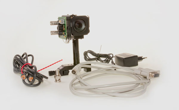 CCD day and night camera module