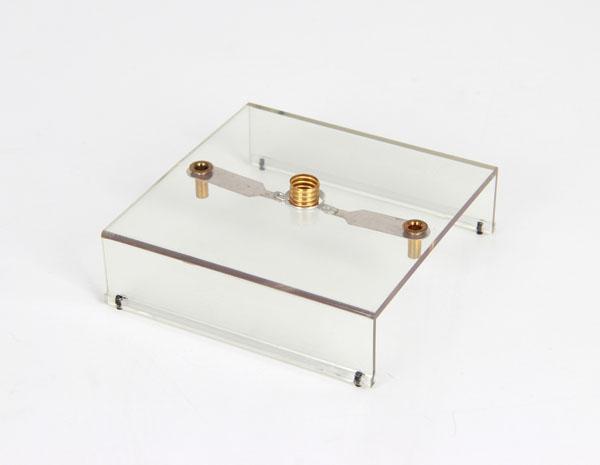 Lamp socket, E 10, transparent base