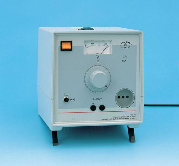 Variable transformer, 0...250 V