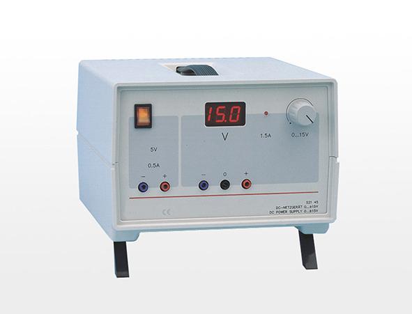 DC power supply 0...±15 V