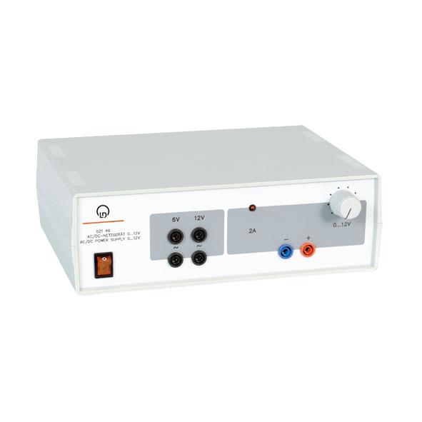 AC/DC power supply, 0...12 V