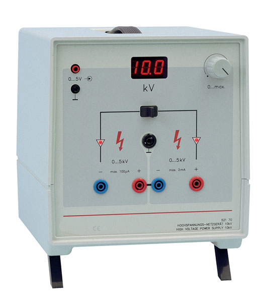 High-voltage power supply, 10 kV