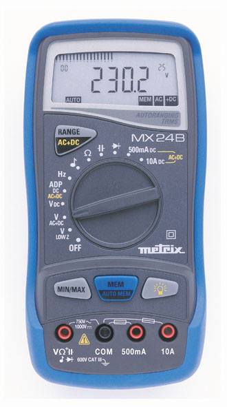 Digital multimeter MX 24B