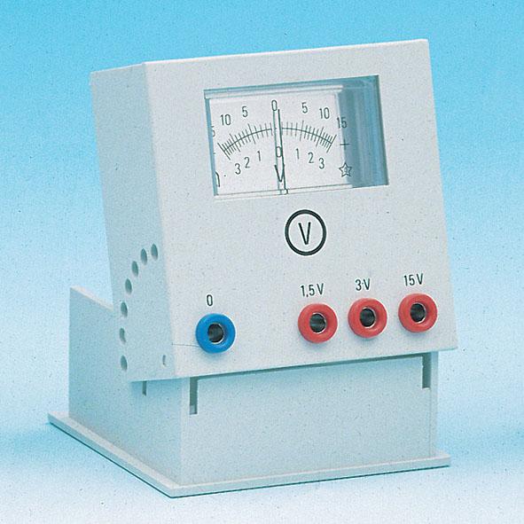 Voltmeter, 1.5/3/15 V
