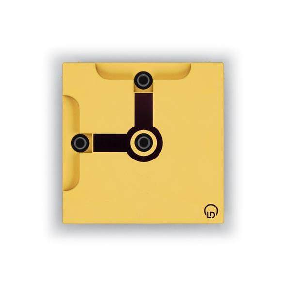 Connector blocks, 90° angle with socket, BST D