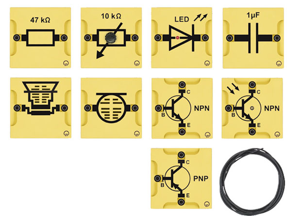 BST D equipment set: Transistor electronics