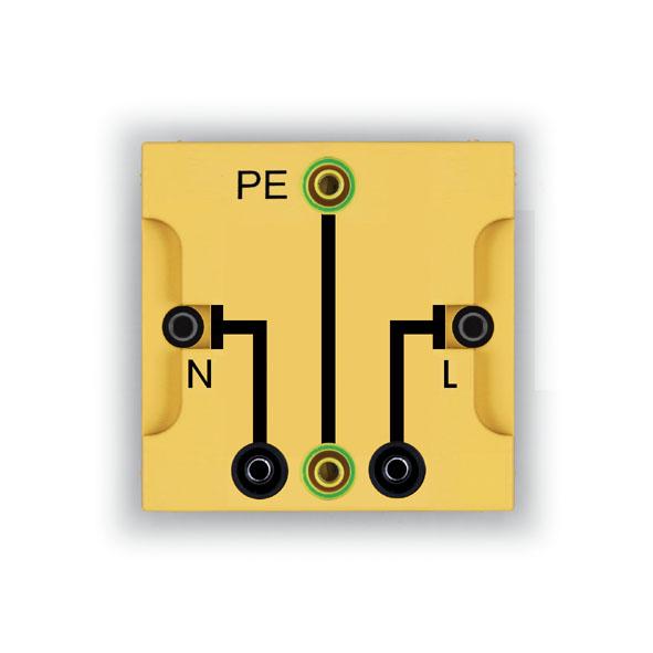 Connector block, PE, N, L, BST D