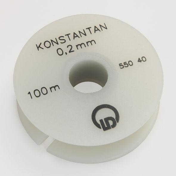 Constantan resistance wire, 0.2 mm diameter, 100 m