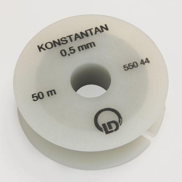 Constantan resistance wire, 0.5 mm diameter, 50 m