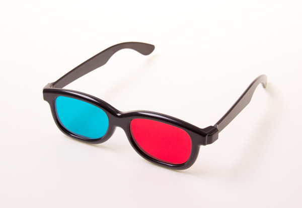 Red-cyan glasses (3D)