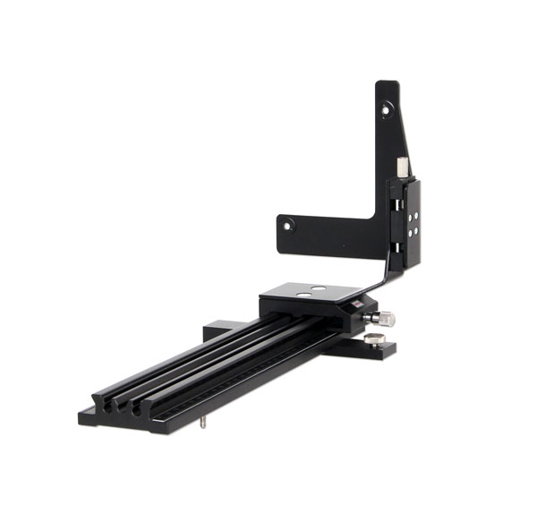 Precision rail for X-ray image sensor