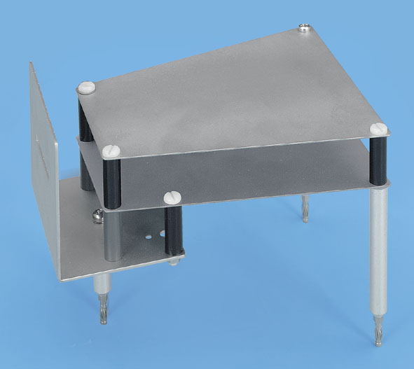 Plate capacitor, X-ray