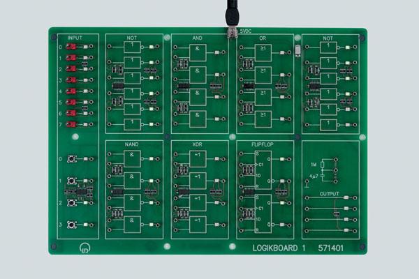 Logic board 1