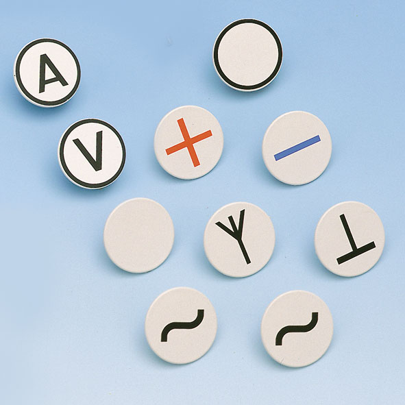 Plug-in symbols, set of 10