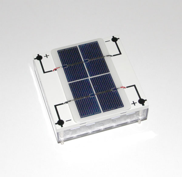Solar module, 2 V/0.3 A, STE 4/100