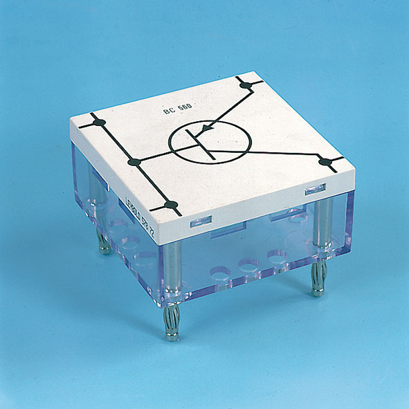 Transistor, BD 138, PNP, emitter top, STE 4/50