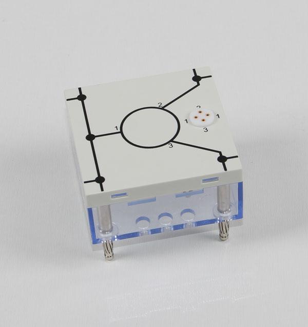Transistor socket, 3 pin, STE 4/50